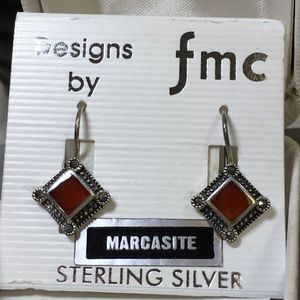 Designs by FMC Jewelry - NWT Sterling Silver & Marcasite Earrings